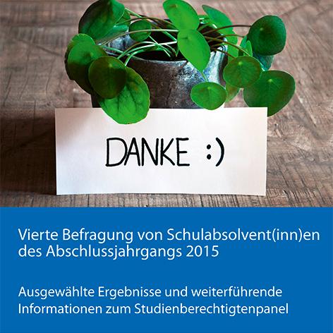 Bild für Flyer zur 4. Befragung des Schulabschlussjahrgangs 2015