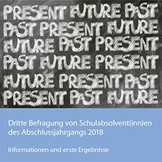 Bild für Flyer zur 3. Befragung des Schulabschlussjahrgangs 2018